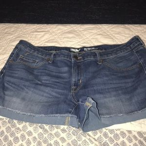 Mossimo Jean shorts 16 worn once on vacation.